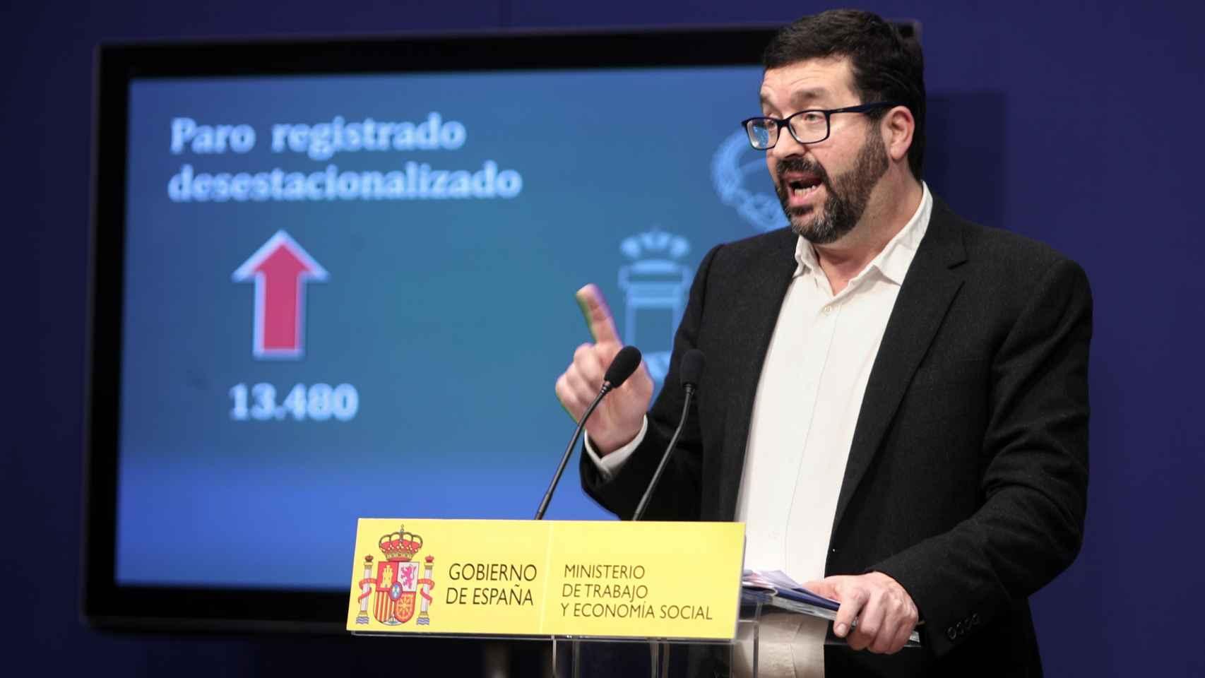 Joaquín Pérez Rey, secretario de Estado de Empleo.