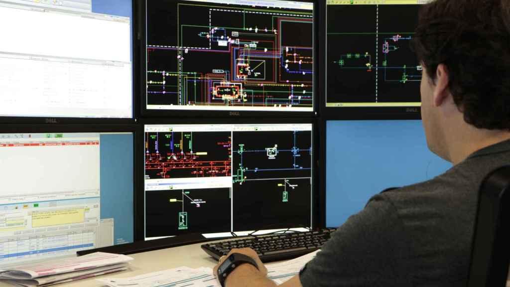 Centro de control de Endesa.