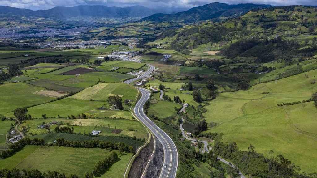 Una de las autopistas de Sacyr en Colombia.
