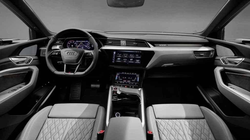 Interior del Audi e-tron S.