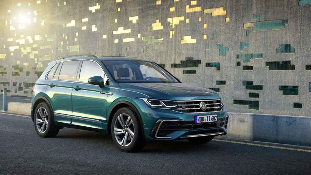 Así es el nuevo Volkswagen Tiguan 2021.