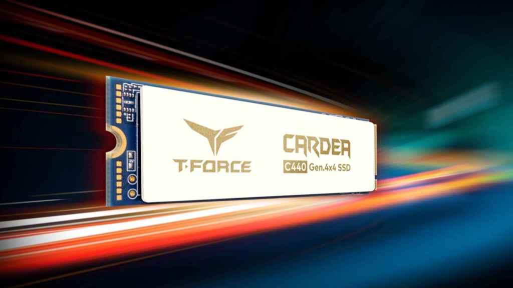 El nuevo SSD T-Force Cardea Ceramic C400