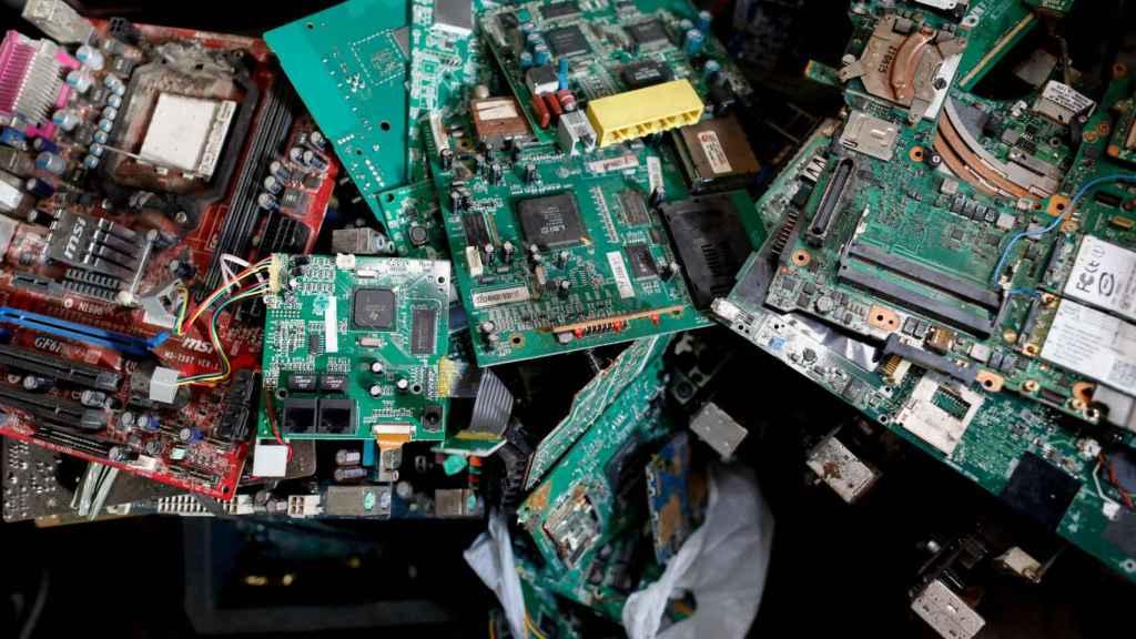 La basura electrónica es otro problema del sector tecnológico