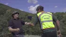 Captura del vídeo que ha difundido la Guardia Civil en sus redes sociales.