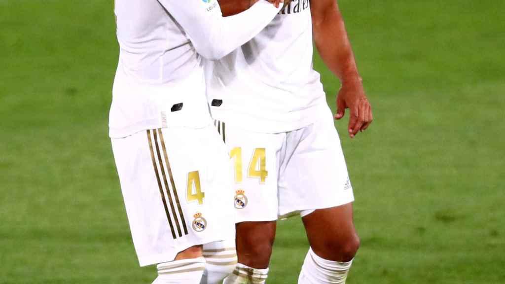Sergio Ramos y Casemiro