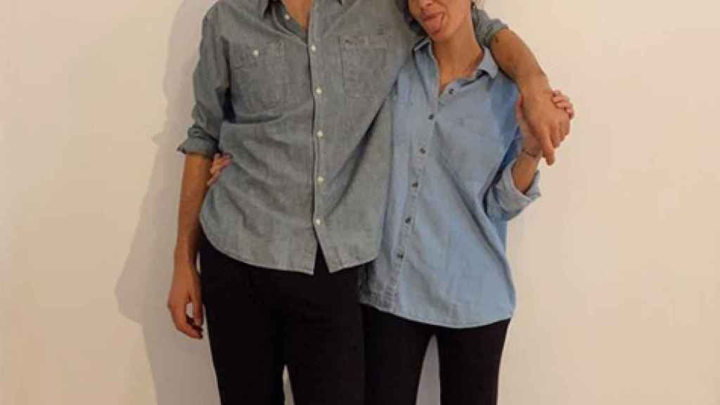 Santiago silva Sáenz de Tejada y Mery Turiel.