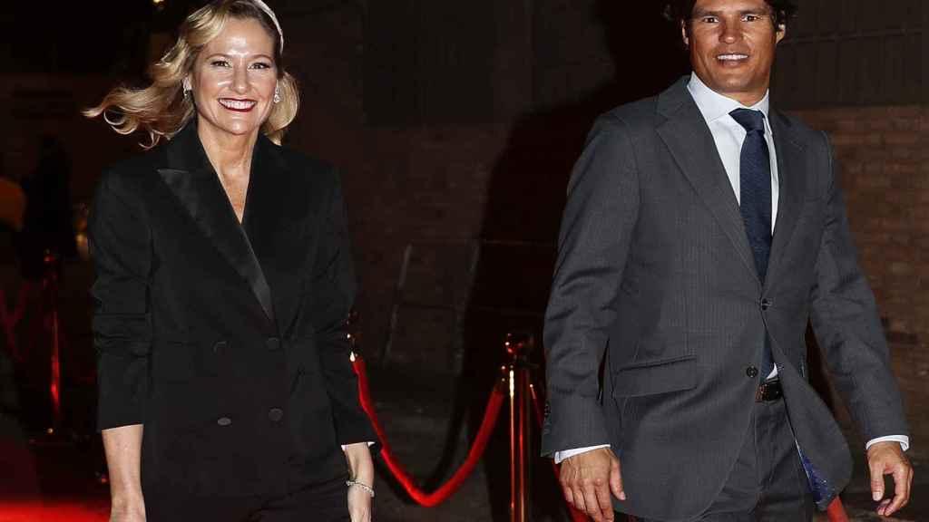 Fiona Ferrer y el empresario Javier Fal-Conde.