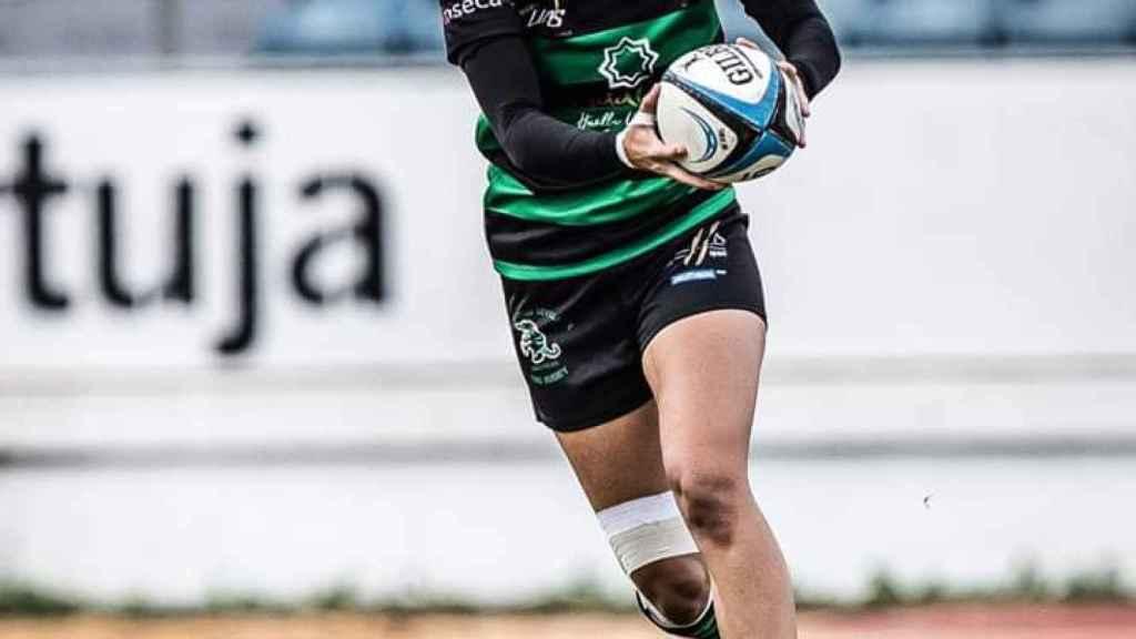 Lola Gracia, capitana del Corteva Cocos Rugby de Sevilla