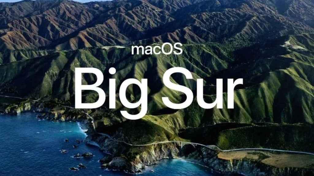 macOS Big Sur.