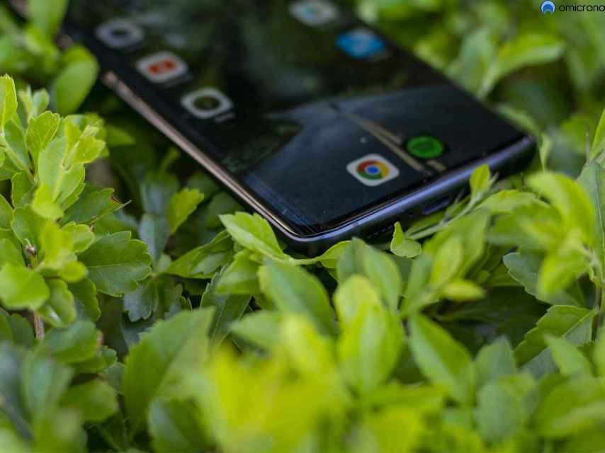 El Xiaomi Mi Note 10 Lite tiene bordes curvos.