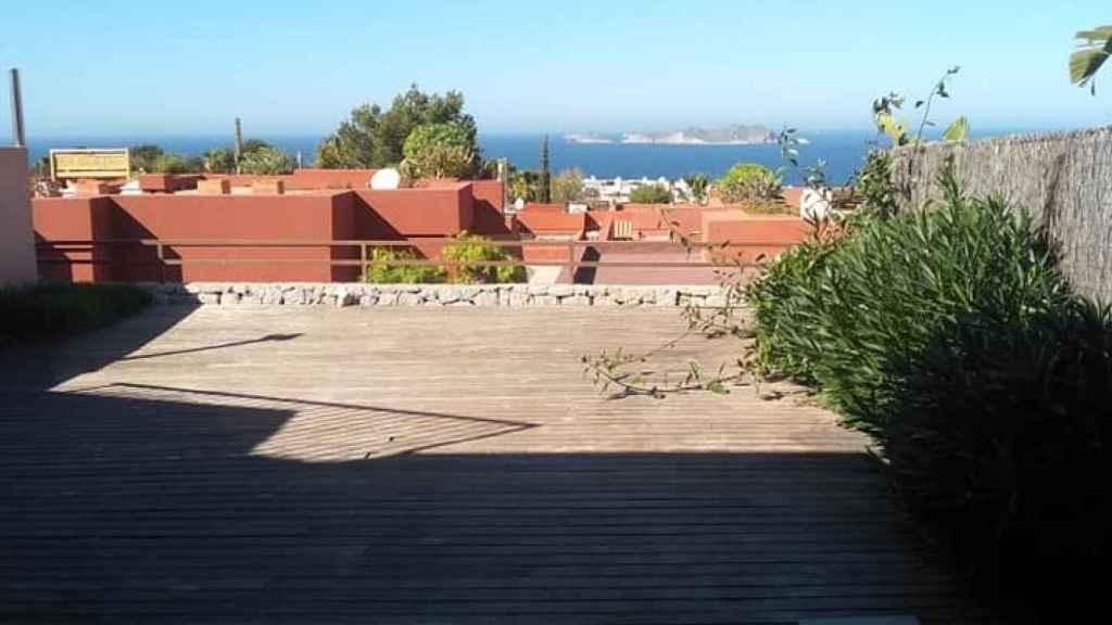 Vistas desde la terraza del chalet de San Josep (Ibiza).