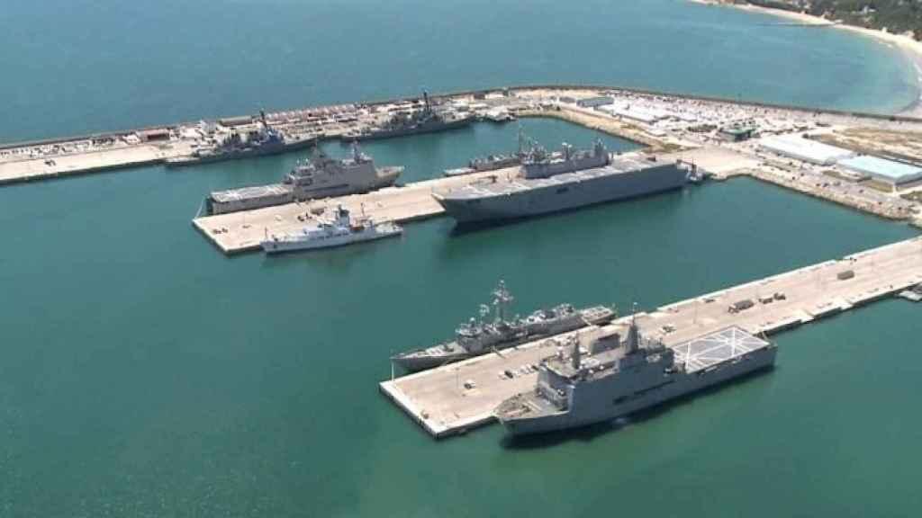 La base naval de Rota.