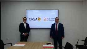 Firma de acuerdo entre Cirsa y Hostelería de España.