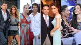 Merlos y Marta López; Fiona Ferrer y Fal-Conde; Ponce y Paloma Cuevas; y Adara y Gianmarco.