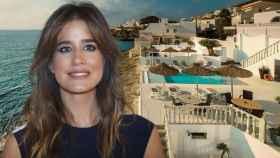 Isabel Jiménez disfruta de sus vacaciones en su tierra natal, Almería.