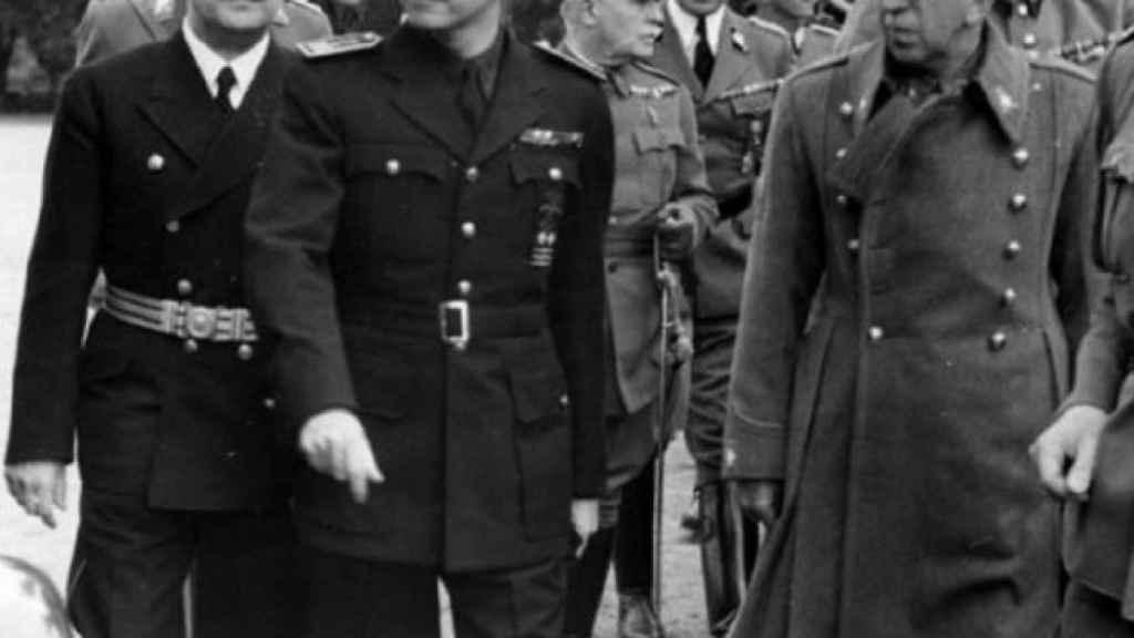 Ramón Serrano Súñer en Berlín en 1940.