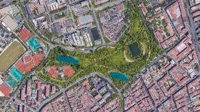 El 'Nou Parc', el parque gigante que quieren construir en el Camp Nou