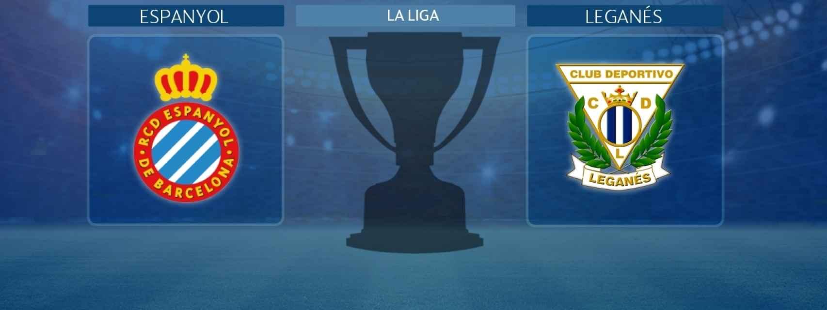 Espanyol - Leganés, partido de La Liga