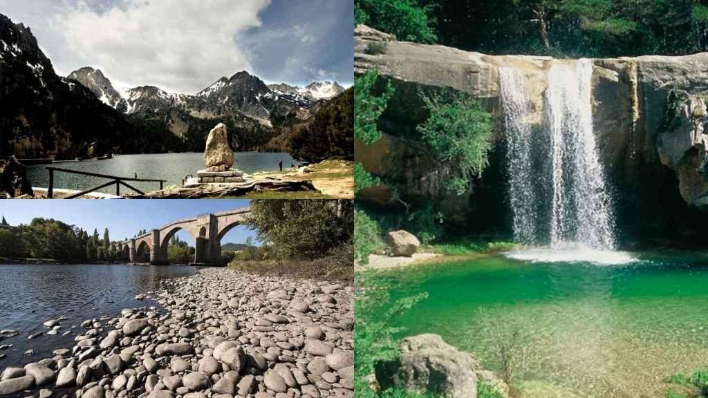 El llac de Sant Maurici, la comarca del Pallers Sobirá y la sierra de Guará