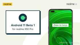 La beta de Android 11 ya disponible para el realme X50 Pro