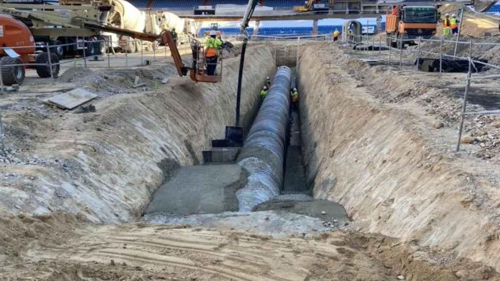 Las obras del Estadio Santiago Bernabéu