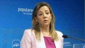 Lola Merino, portavoz del PP en las Cortes regionales