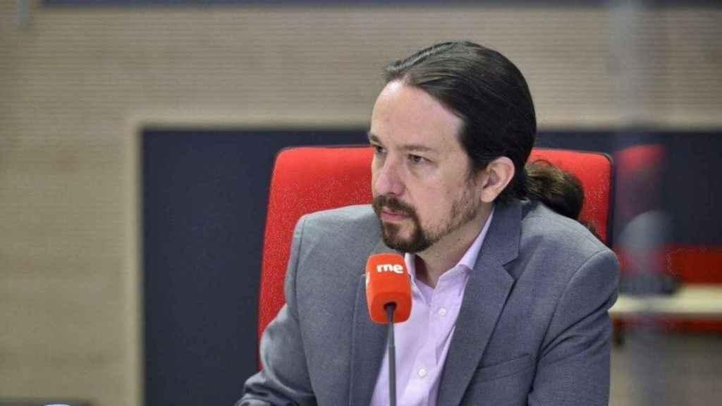Pablo Iglesias, vicepresidente segundo del Gobierno, entrevistado en RNE.