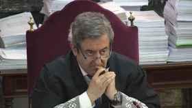 Javier Zaragoza, durante el juicio del 'procés'./