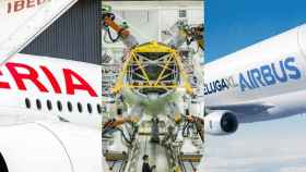 Iberia, la industria auxiliar y Airbus centrarán la atención de la SEPI.