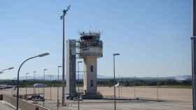 Torre de control del Aeropuerto de Gerona.