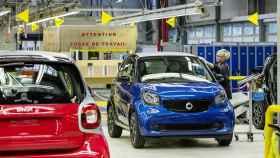 Una de las plantas de Daimler.