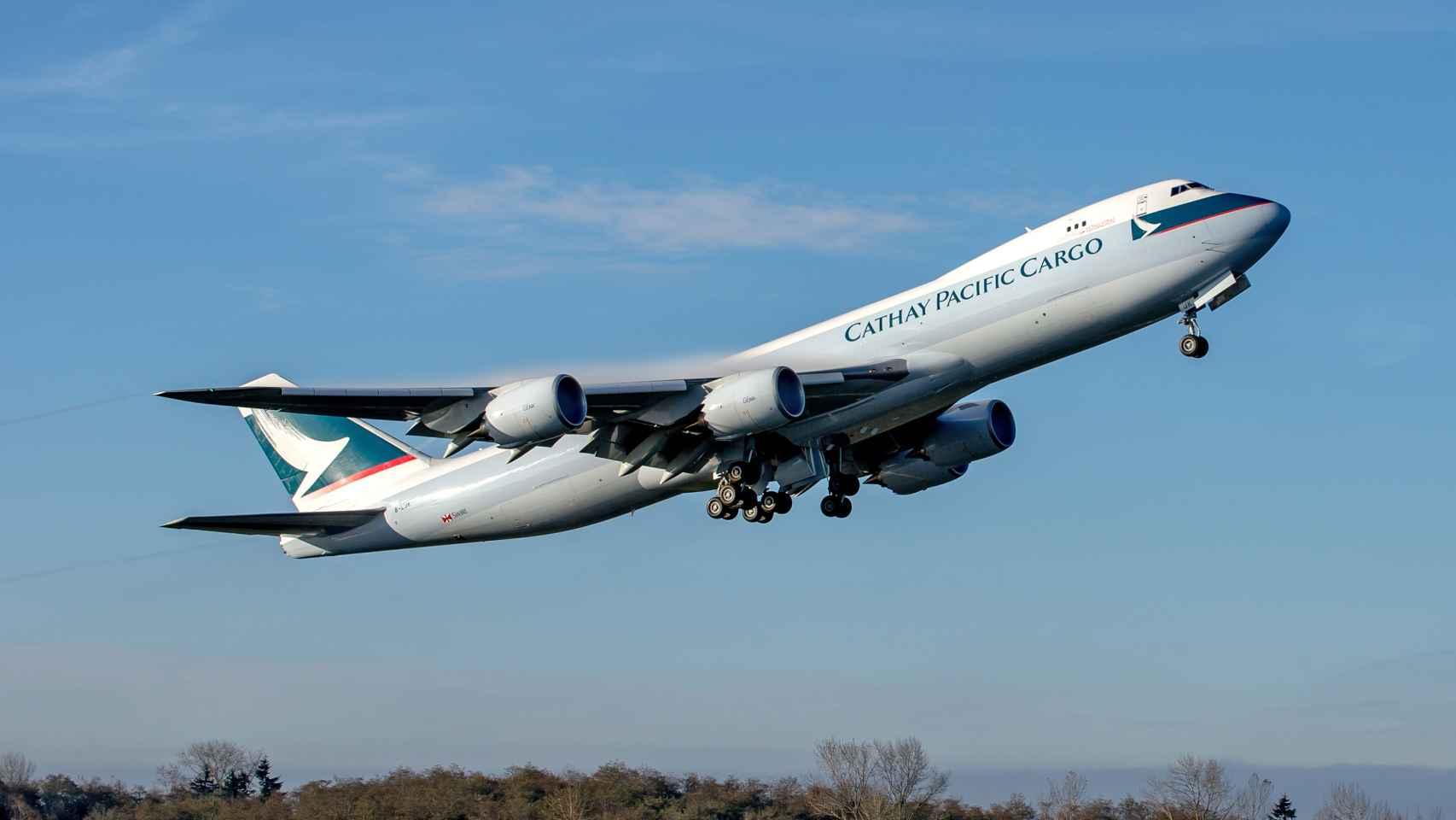 Boeing 747 de Cathay Cargo