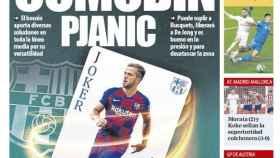 La portada del diario Mundo Deportivo (04/07/2020)