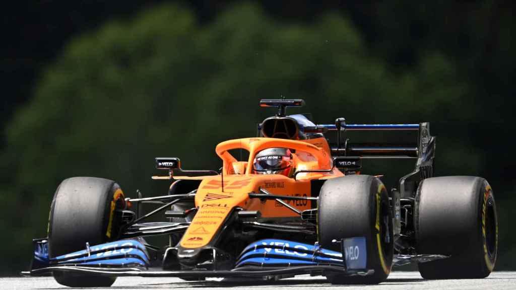 Carlos Sainz, durante el GP de Austria 2020