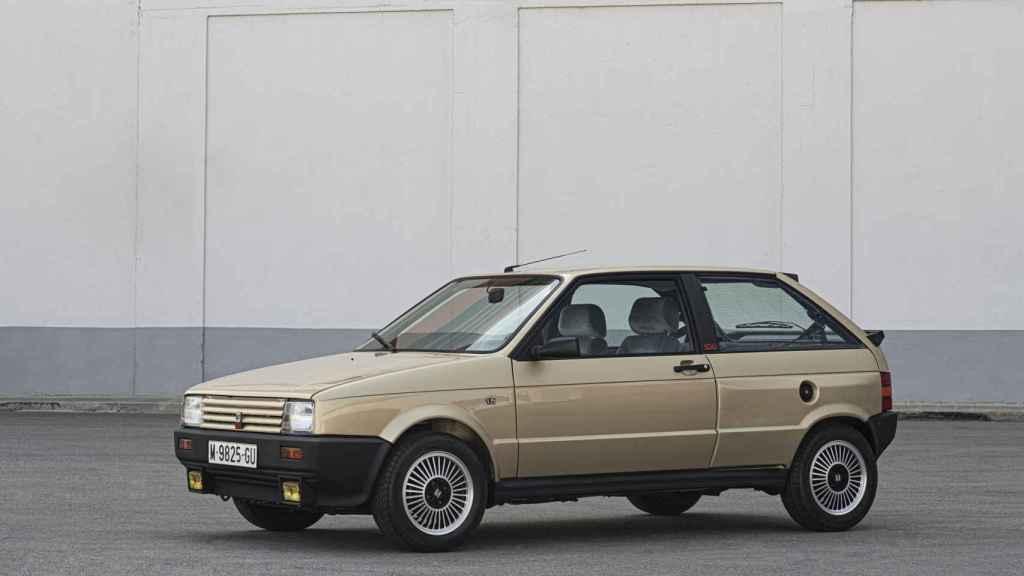 El Seat Ibiza edición limitada que el rey Juan Carlos regaló al príncipe Felipe.