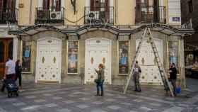 El Teatro Joy Eslava el mismo día que el Gobierno de la Comunidad de Madrid decretó el cierre de discotecas.
