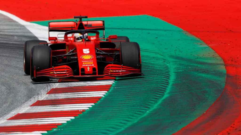 Vettel, con Ferrari en el GP de Austria 2020