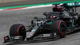 Coche de Hamilton en el GP de Austria de F1
