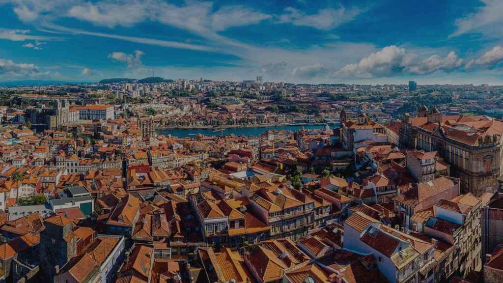 Oporto, ciudad del vino.