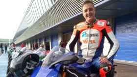 El piloto español Ismael Bonilla
