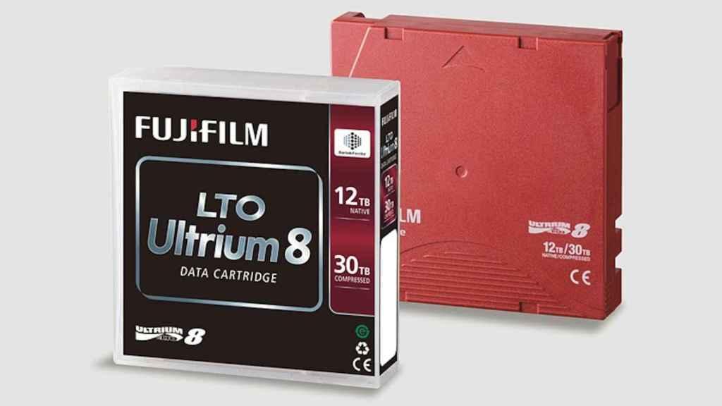 Las cintas de almacenamietno actuales sólo llegan a los 12 TB