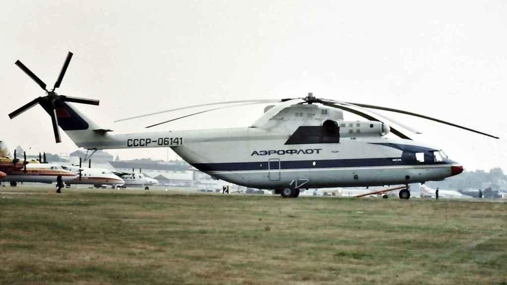 Mil Mi-26 de Aeroflot