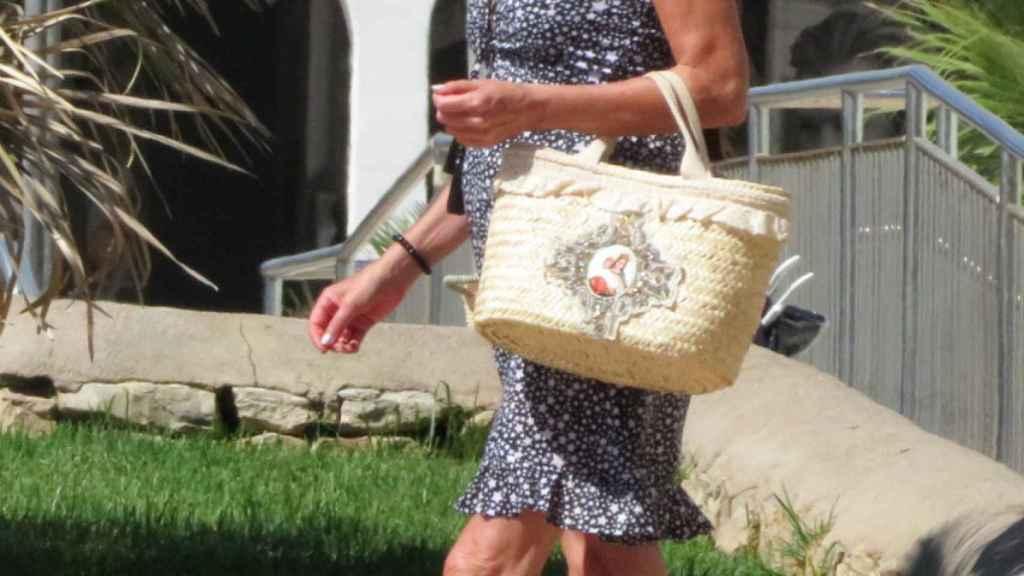 Ana Obregón pasa unos días en Mallorca.