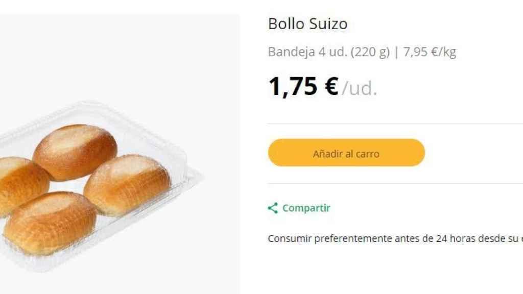 Bollo Suizo
