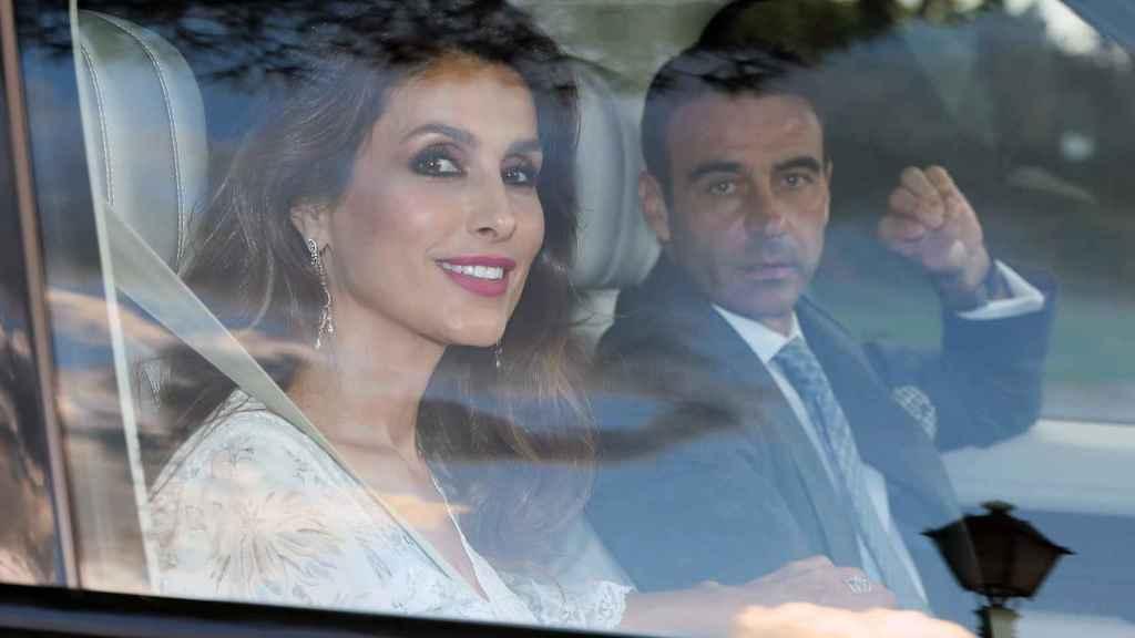 Paloma Cuevas y Enrique Ponce.
