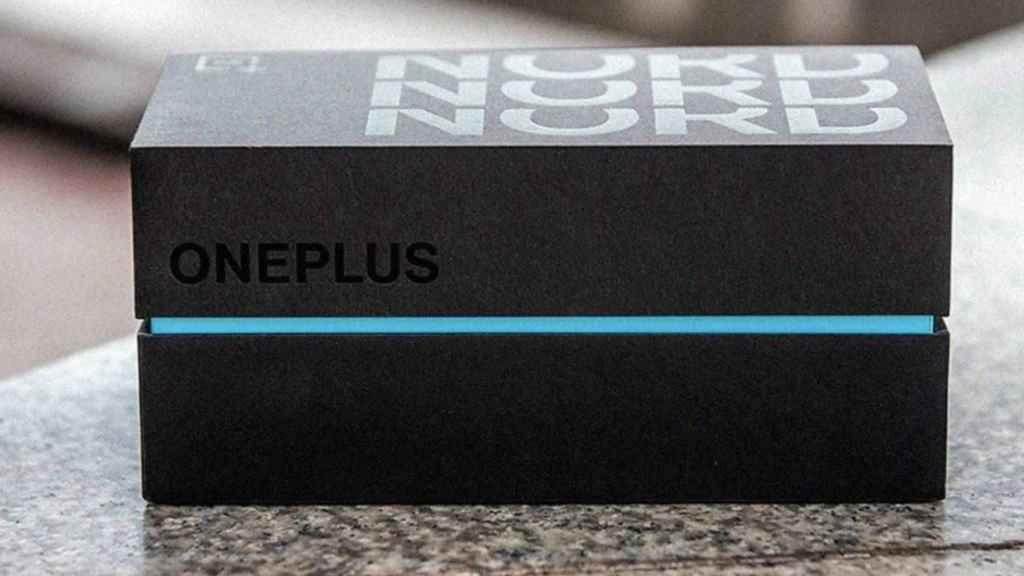 Caja de OnePlus Nord