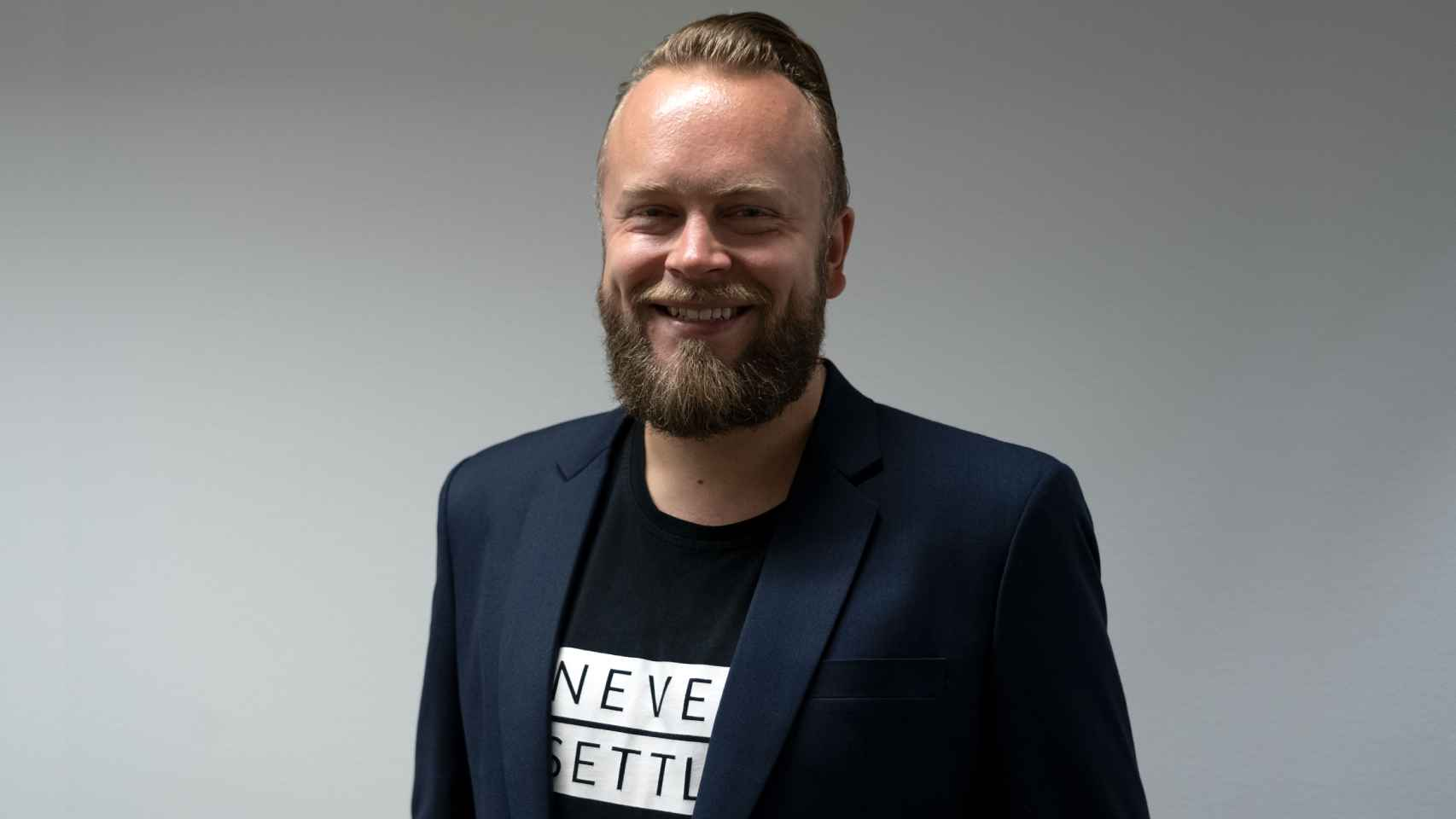 Tuomas Lampén, jefe de estrategia de OnePlus Europa.