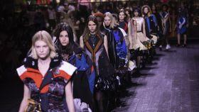 Desfile de Louis Vuitton.