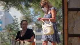 Ana Obregón en Mallorca.