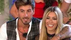 Iván González y Oriana Marzoli, durante la última gala de 'La casa fuerte'.